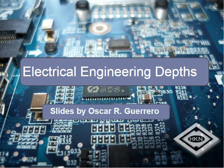 EE Depths Workshop Slides