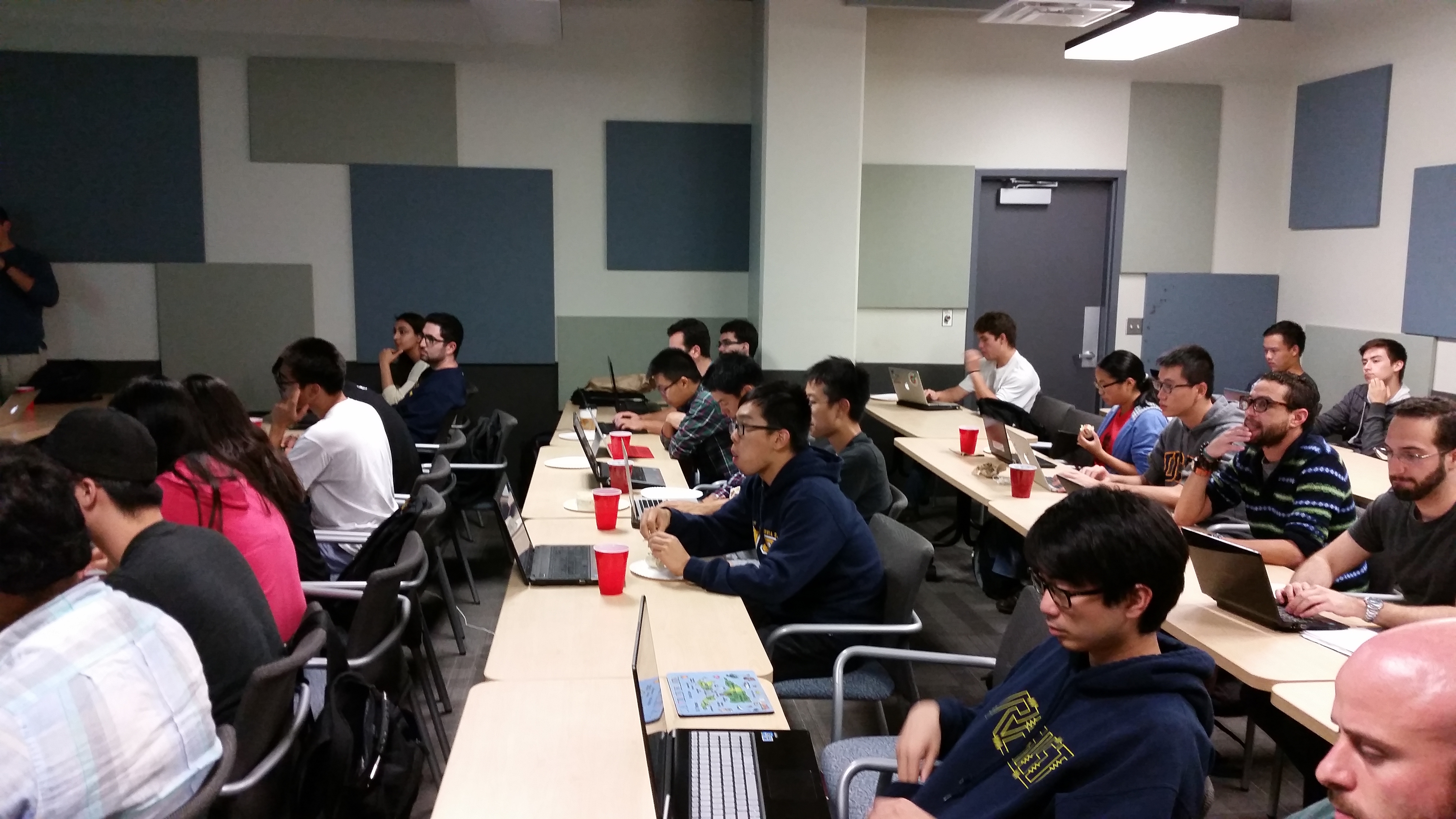 Python and OpenCV Workshop Photos